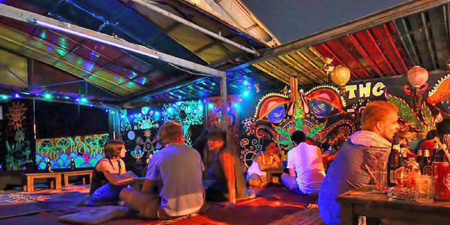 THC Rooftop Bar in Chiang Mai