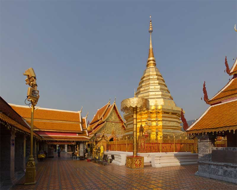 Wat Phra That in Chiang Mai