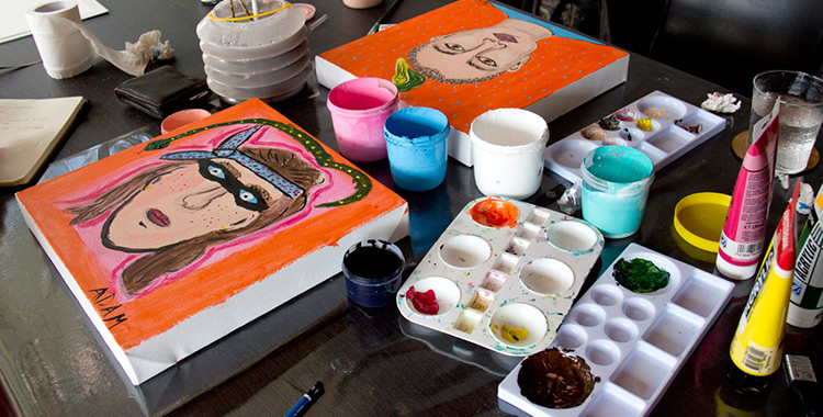 Private Art Class in Chiang Mai