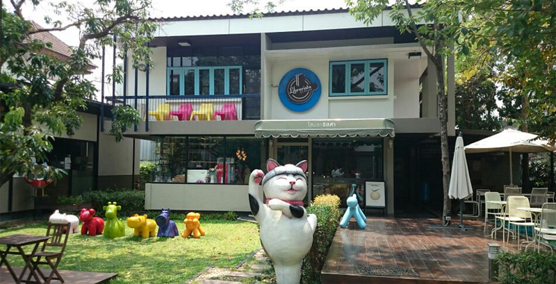 Chiang Mai Coffee Shops on Nimmanhaemin road