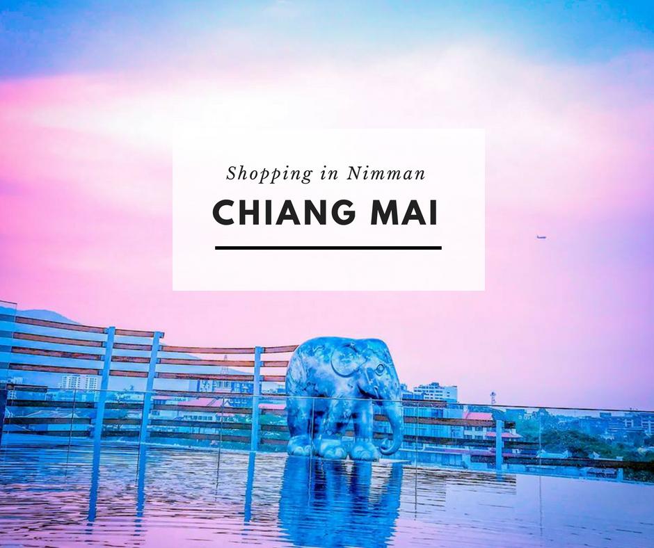 Le shopping à Nimman, Chiang Mai