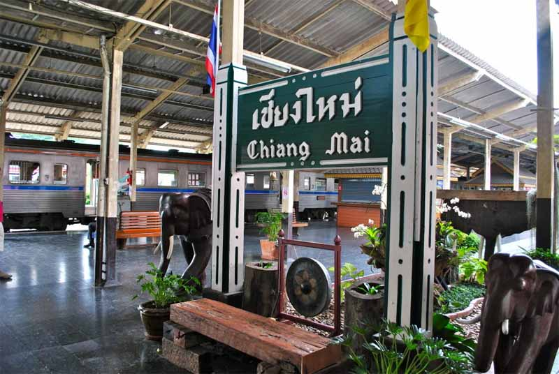 Chiang Mai by Train