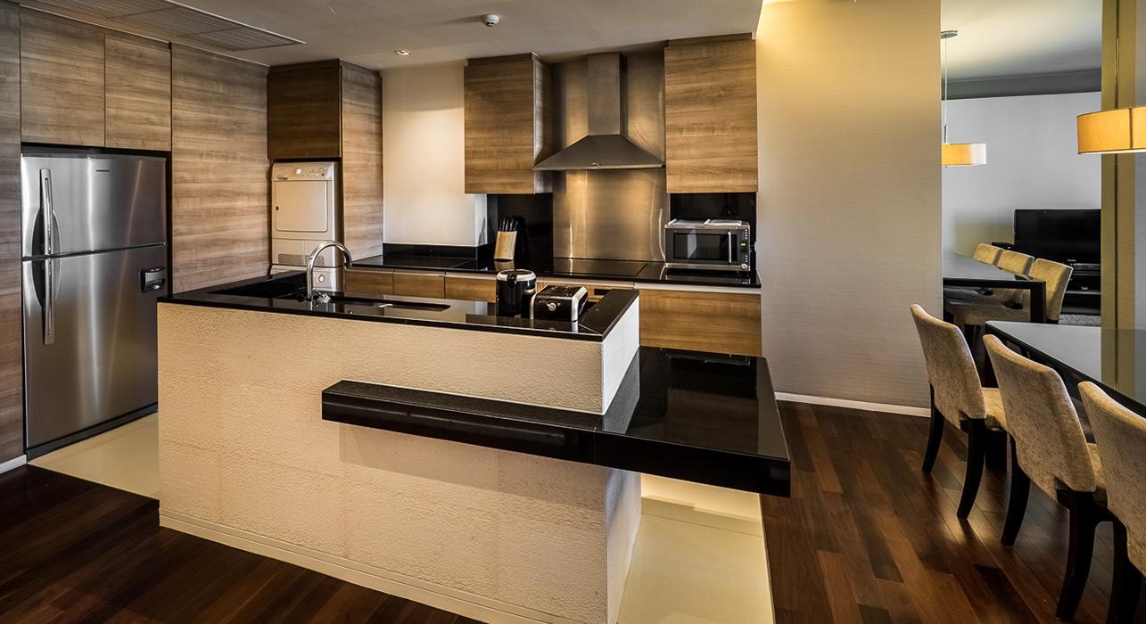 luxury three bedroom suite akyra thonglor bangkok hotel rh theakyra com hotel suites with kitchenette - salina ks hotel suites with kitchen