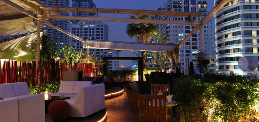 Nest Rooftop Bar in Bangkok