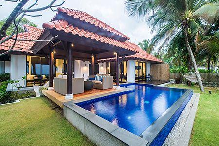 Two-Bedroom Beachfront Pool Villa